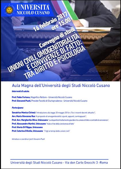 Convegni Universitari Unicusano Torino